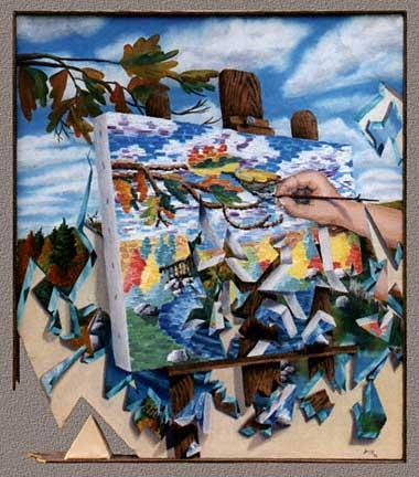 experimental impressionistic
