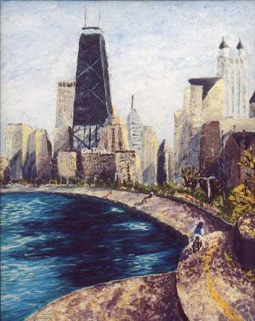 impressionistic Chicago